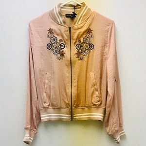 NWT Emboldened Bomber Living Doll Jacket. Size S
